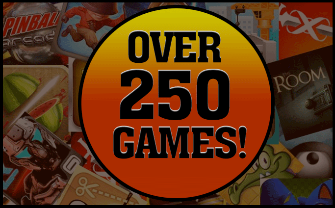 Over 250 Games